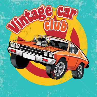 New car club clipart.