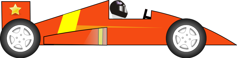 Sports Car Clipart Side View.