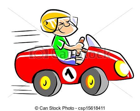 Auto Racing Art.