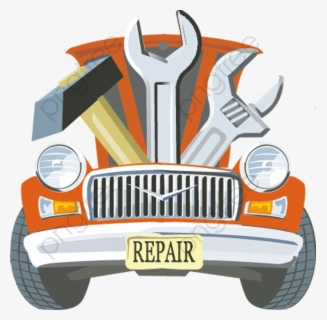 Free Auto Repair Shop Clip Art with No Background.