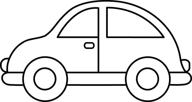 Cars clipart black and white 1 » Clipart Station.