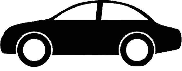 Clip art of a car clipart image 2.