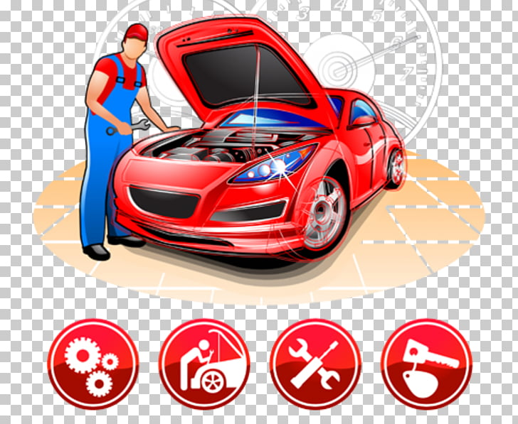 Car Motor Vehicle Service Auto mechanic Automobile repair.