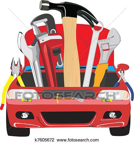 Auto Tools Cliparts 8.