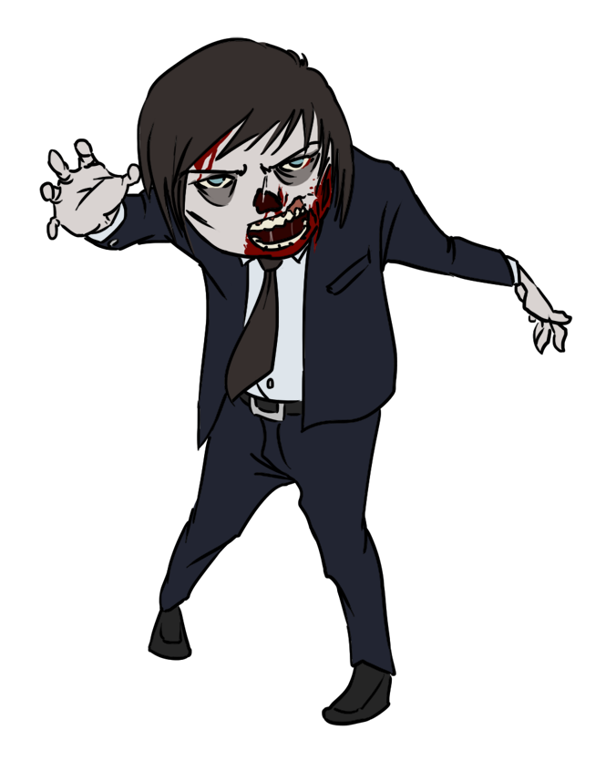 Zombie clip art vector zombie graphics image #23494 in 2019.