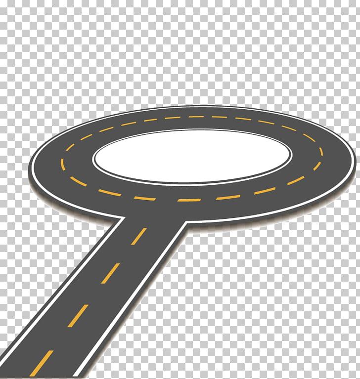 Carretera de rotonda, carretera de acceso controlado.