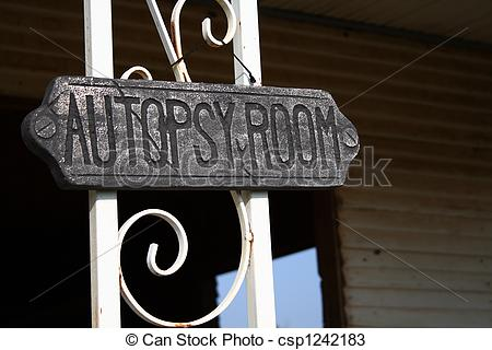 Stock Photos of Autopsy Room.