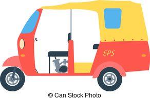 Auto rickshaw Vector Clipart EPS Images. 227 Auto rickshaw clip.