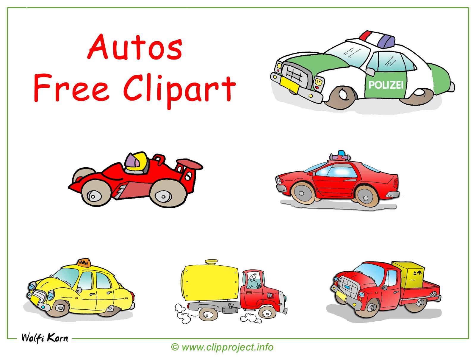 Autos clipart.