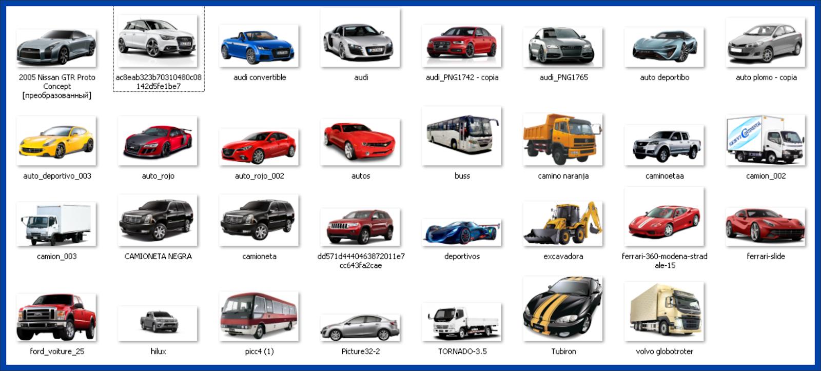 carros png para photoshop gratis.