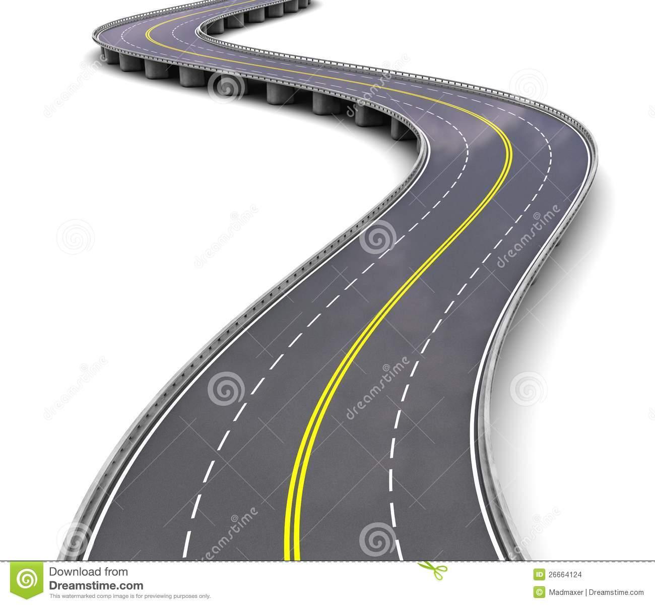 Autostrada Vuota Illustrazioni, Vettoriali E Clipart Stock.