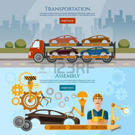 149,606 Auto Transport Stock Vector Illustration And Royalty Free.