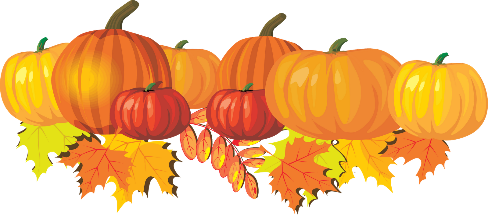 Autumn Thank You Clipart.