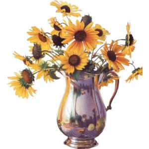 Fall Flower Bouquet Clipart