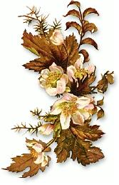 Fall flower bouquet clipart.