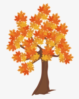 Free Fall Tree Clip Art with No Background.