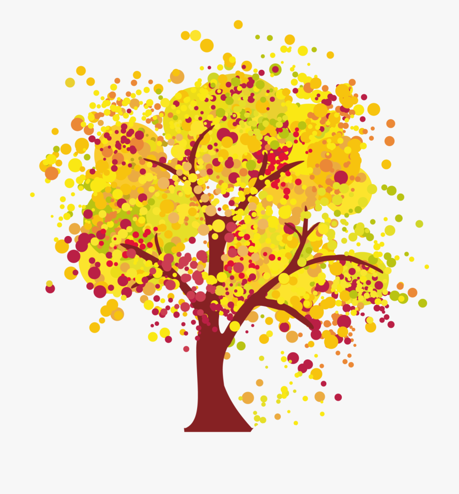 Autumn Clipart &ndash Fruitful Tree Clipart.