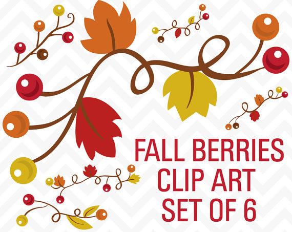 Fall Clipart, Leaf Clipart, Autumn Clipart, Clipart Branches.