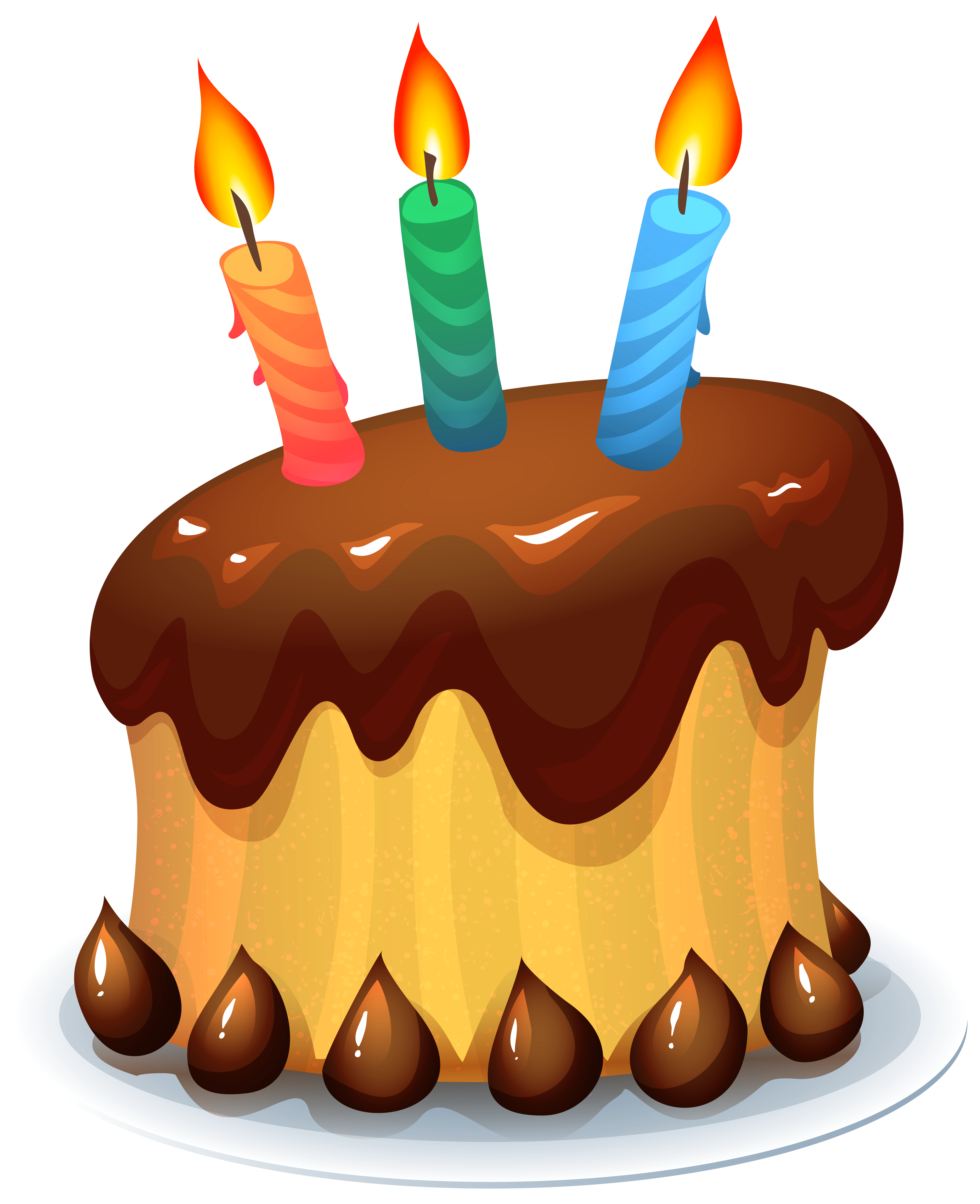 Birthday Cake PNG Clipart Picture.