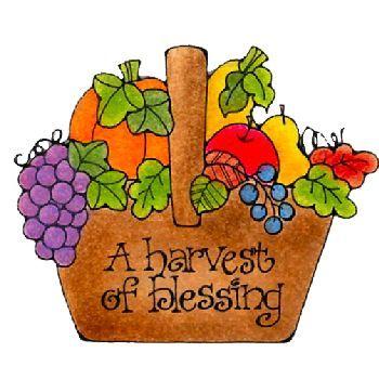 Harvest Blessings.