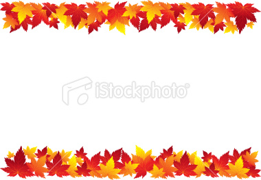 Fall borders clipart free 1 » Clipart Station.