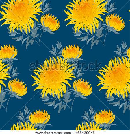 Chrysanthemum Yellow Stock Vectors, Images & Vector Art.