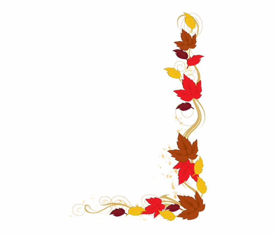 Clipart Borders Autumn.
