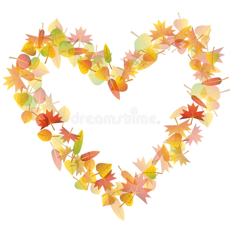Fall clipart heart, Fall heart Transparent FREE for download.