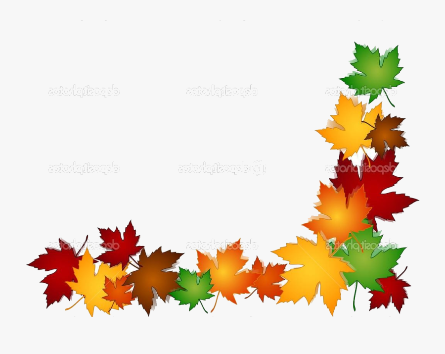Fall Border X Free Autumn Clipart Backgrounds Harvest.