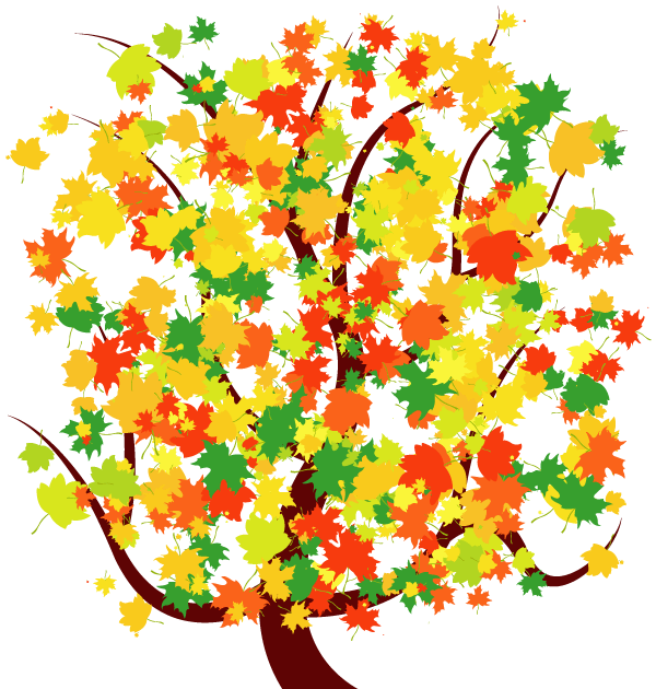 Free clipart autumn in color.