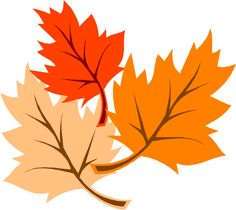 Clip Art Autumn Foliage.