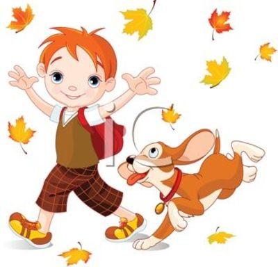 Autumn Day Clip Art.