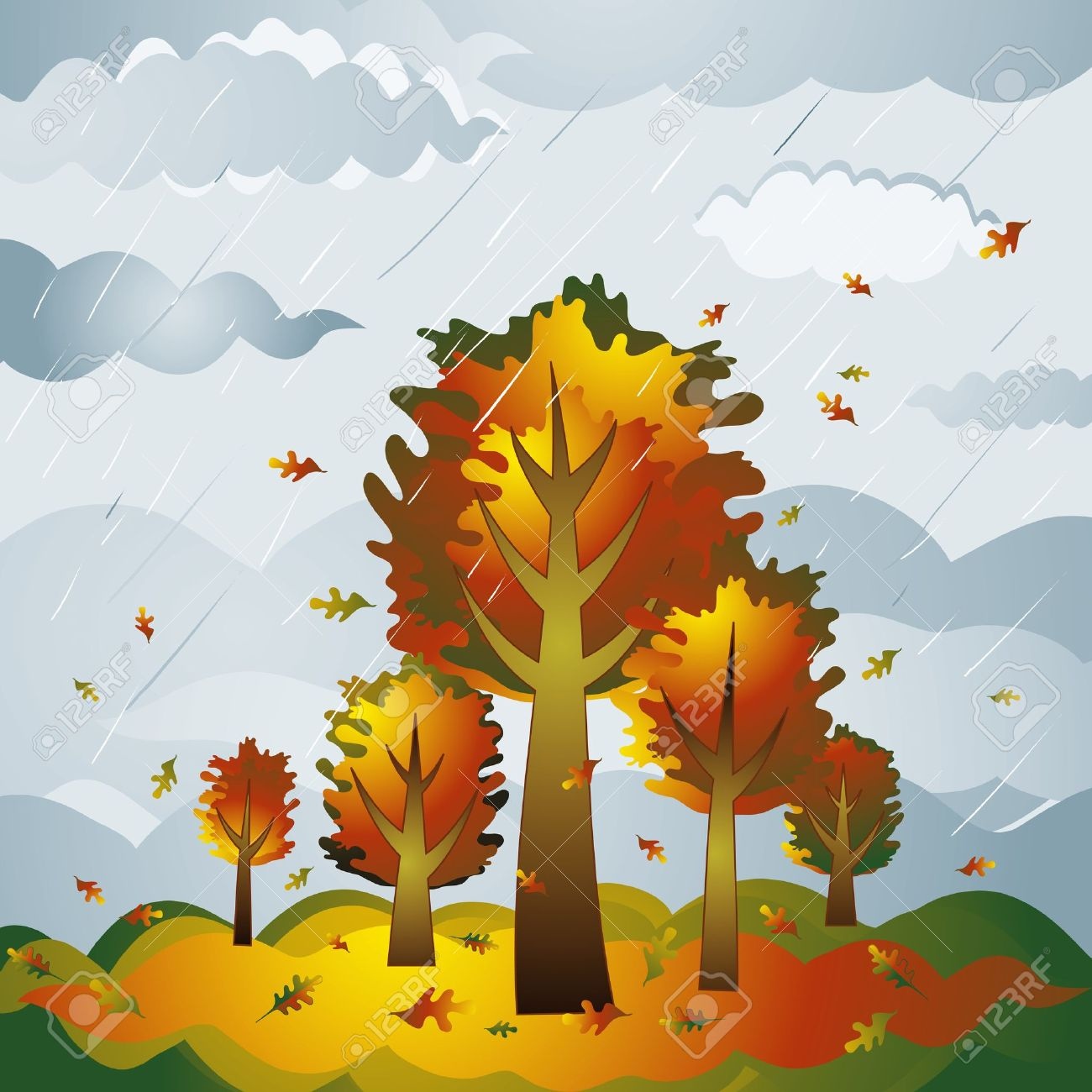 first day of fall clipart - photo #31