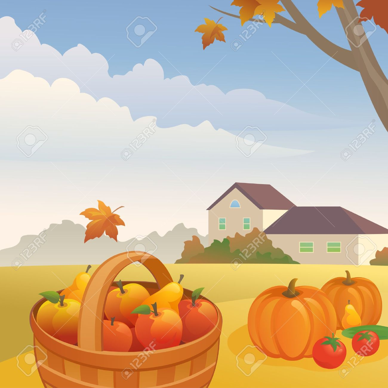 autumn day clipart clipground