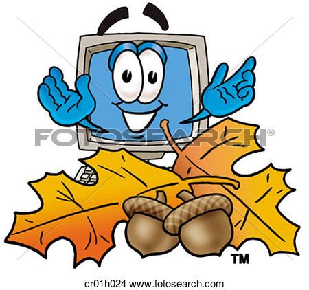 Autumn computer clipart.
