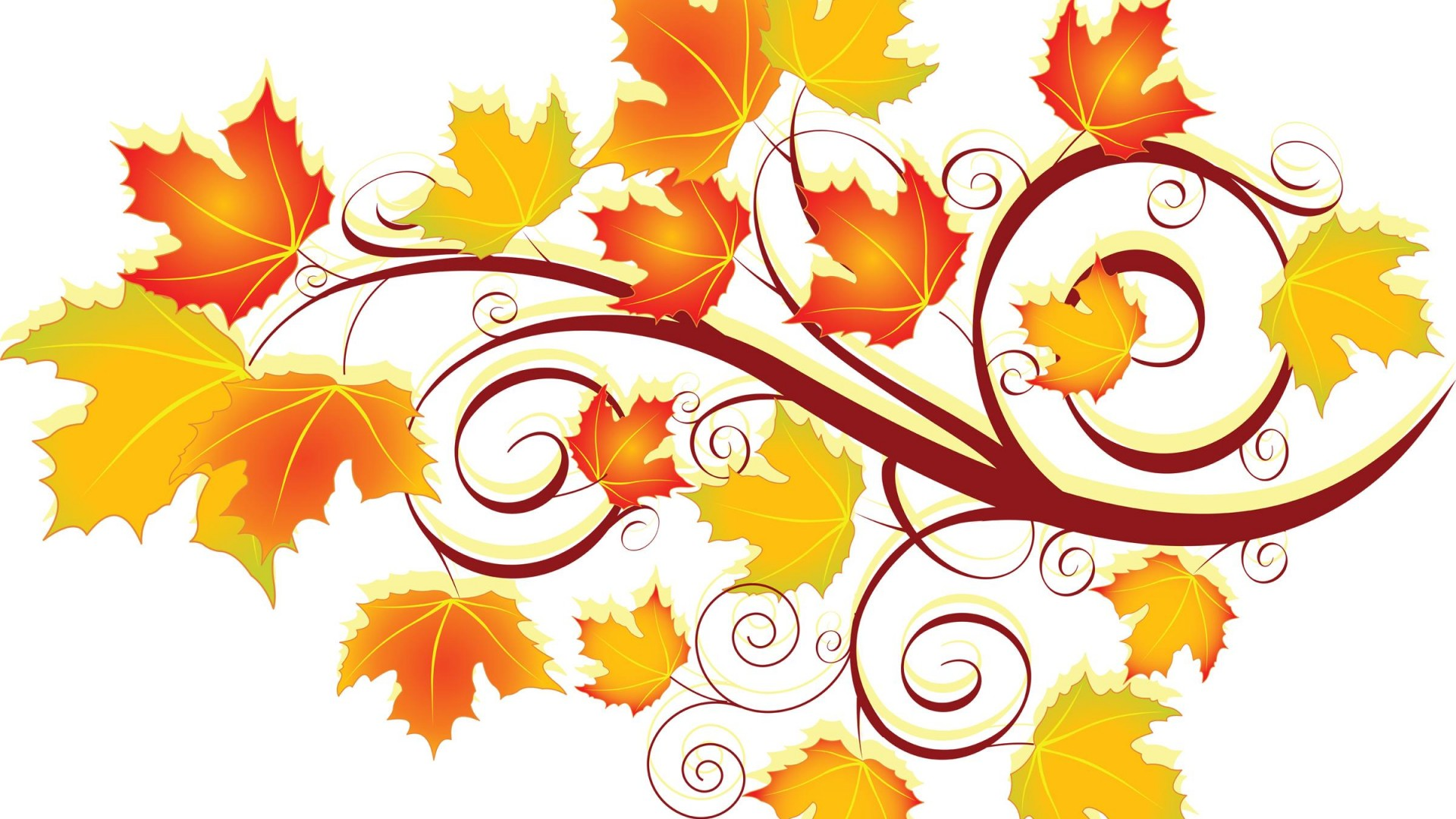 Leaves Desktop Wallpaper 03523.