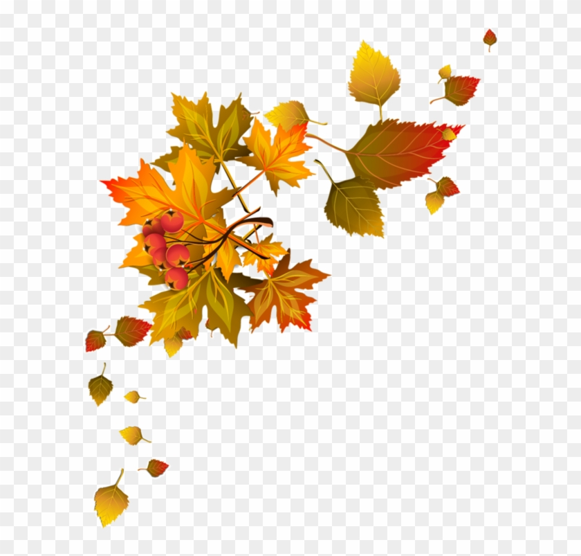 Bordures,tubes Coins,corners Autumn Leaf Color, Autumn.