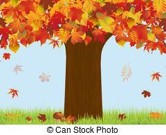 Stock Illustration of Autumn.