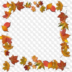 Download Autumn Leaves Clipart Frames PNG images.