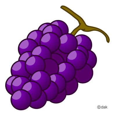 Grape|Pictures of clipart and graphic design and illustration.