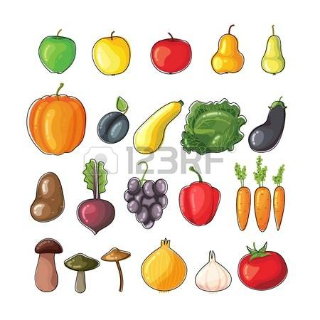 38,274 Autumn Fruits Stock Vector Illustration And Royalty Free.