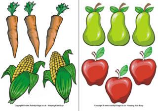 Harvest Basket Clipart.