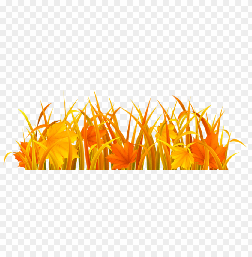 Download autumn grass clipart png photo.