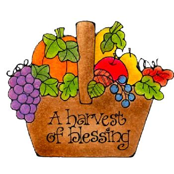 Harvest Blessings.