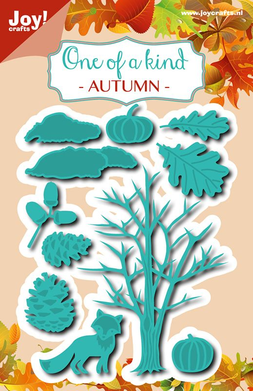 6002 0636 ONE OF A KIND AUTUMN JOY CRAFTS Cut Emboss die..