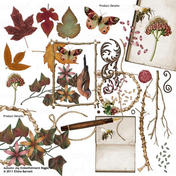 Autumn Joy Collection Biggie.