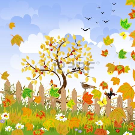 24,327 Autumn Landscape Stock Vector Illustration And Royalty Free.
