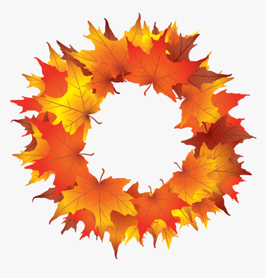 Autumn Wreath Kid Png Images Clipart.