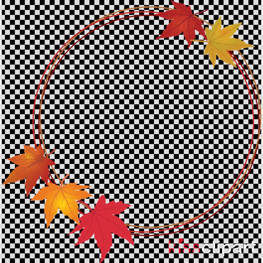 autumn leaf wreath leaves wreath thanksgiving clipart.