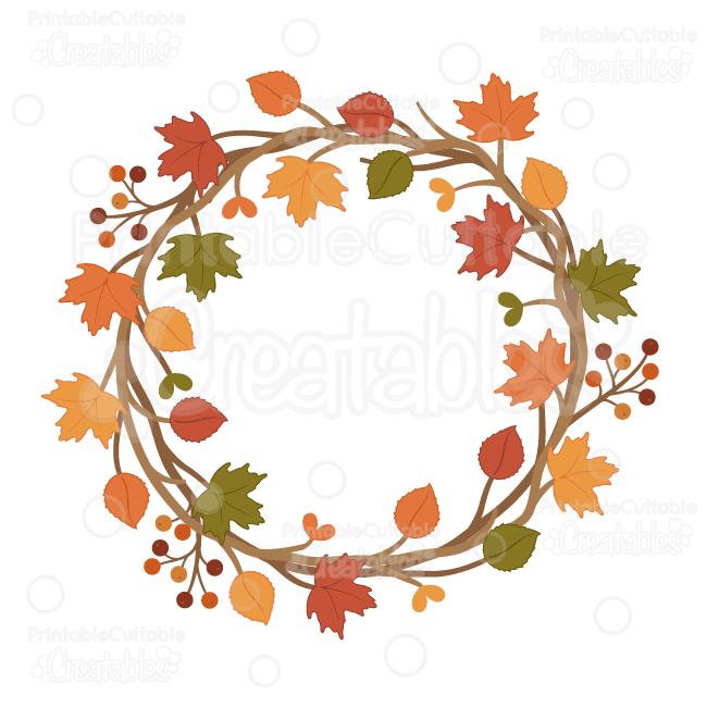 Fall Wreath Clipart Free.
